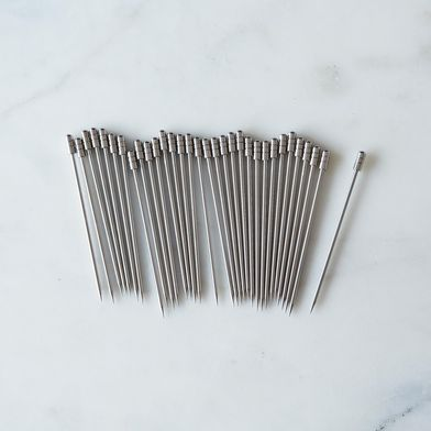 Stainless Steel Cocktail Pick Set, 32 Picks