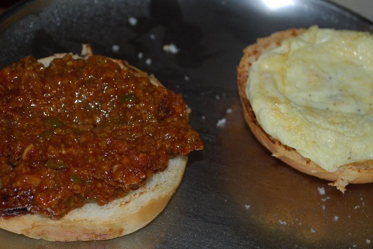 Vegetarian Sloppy Joe