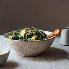 Vegan Cashew Caesar Salad