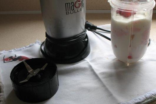 Rich milky Milkshake recipe