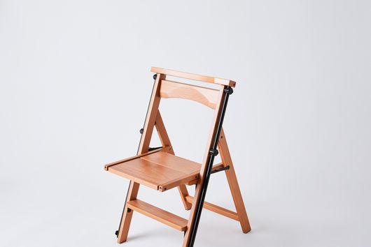 Convertible Wooden Chair Ladder, 4 Step