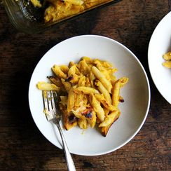 Baked Penne with Butternut-Sage Sauce