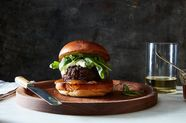 A (Sweet, Savory, Spicy, Creamy) Burger That Has It All