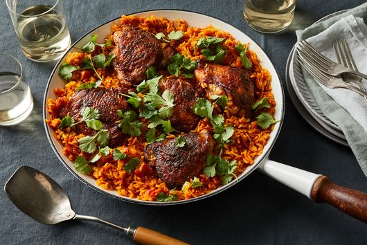 A One-Skillet Chicken & Turmeric Rice to Add to Your Winter Rotation