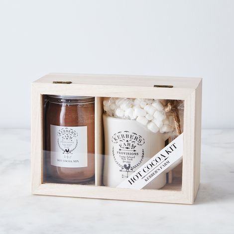 Kerber's Farm Homemade Hot Cocoa & Mug Gift Box