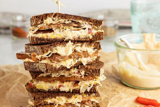 Pimento Cheese Vegetarian Reuben