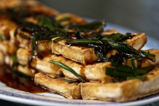 Mom's Fried Tofu
