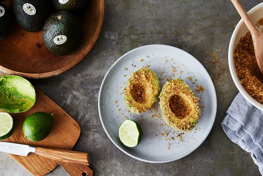 Chicharrones-Encrusted Avocado