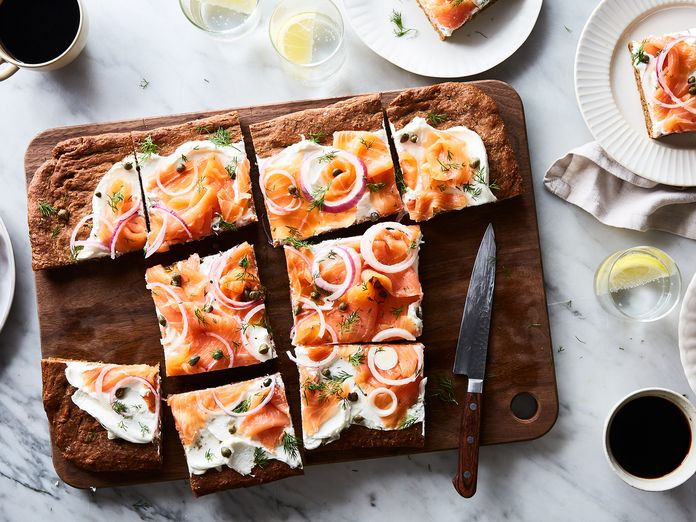 Give Fluffy Focaccia the Bagel Treatment, Feed a Crowd