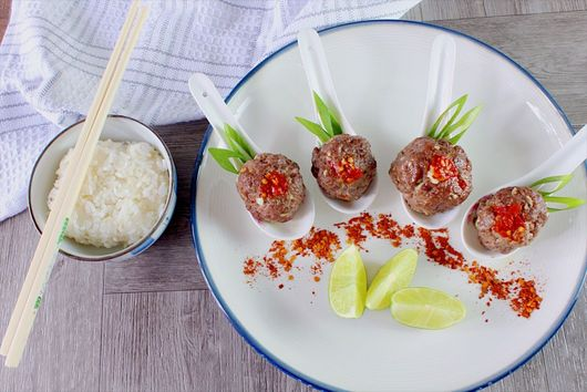 Cumin Spiced Chinese Meatballs