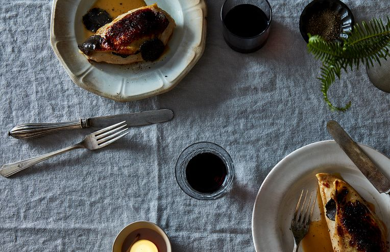 The Secret to an Easy Valentine's Dinner that Wows: Black Truffles