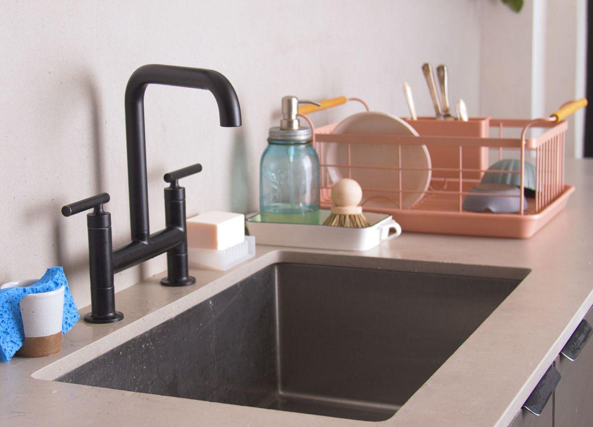 Kitchen Sink Area Organization Ideas