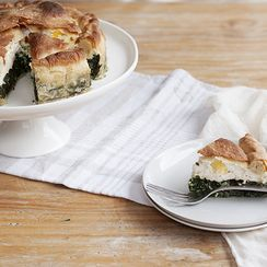 Easter Chard & Ricotta Pie (Torta Pasqualina)