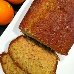 oat cake with orange