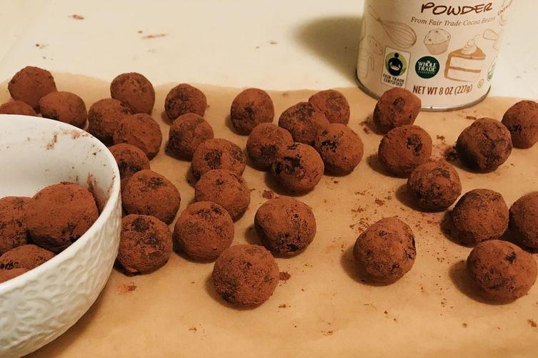 Coffee & Spice Truffles