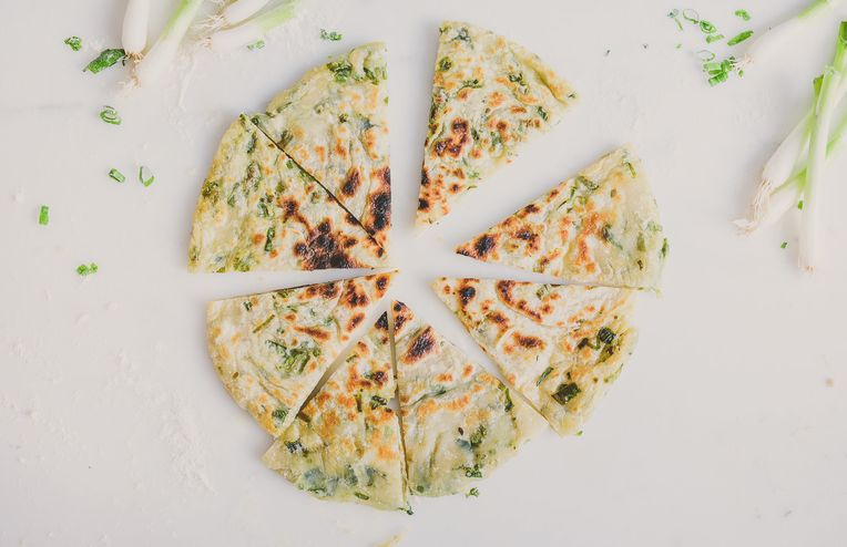 Simple Scallion Pancakes, Made at Home