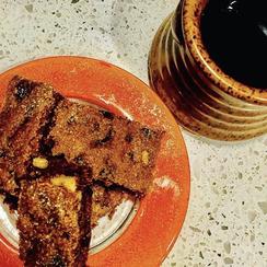 Hermit Bars with Dates, Raisins and Walnuts