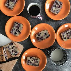 banana blueberry snacking cake