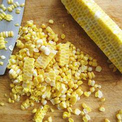 Roasted Corn and Cojita Quesadillas
