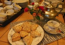 Cranberry, Orange & Almond Cream Scones
