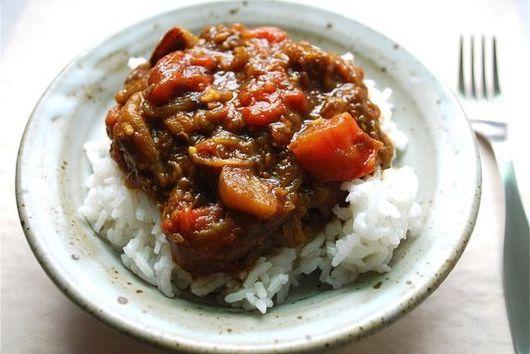 Robabeh's Eggplant Stew