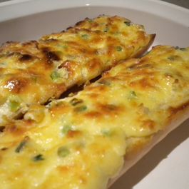 cheese/garlic bread by Kyle Anne