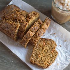 Banana Carrot Bread with Coconut