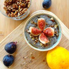 Citrus & Fresh Fig Chia Seed Pudding