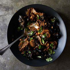 Marinated Mushrooms, Sichuan-Style