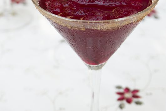"""Buzzed Babbo"" Cranberry Cocktail"