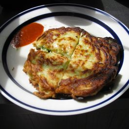 Korean-style Vegetable Pancakes
