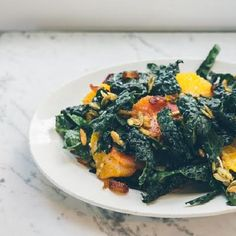 Kale and Citrus Salad with Vanilla Bean Vinaigrette