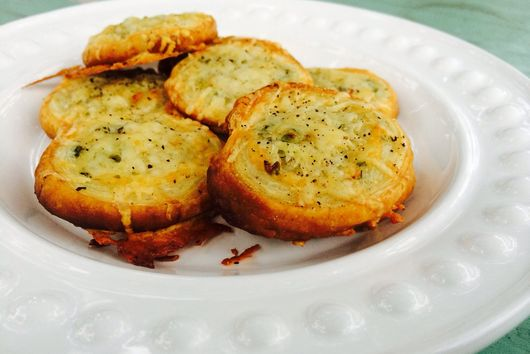 Peppered Parmesan Cheese Snails