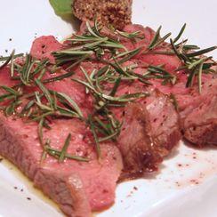 Tuscan Grilled Steak with Rosemary - Tagliata Toscana  Al Rosmarino