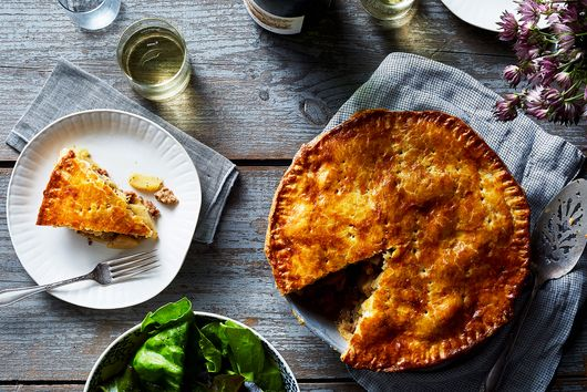 This Savory Twist on Apple Pie Turns It into a Main Dish