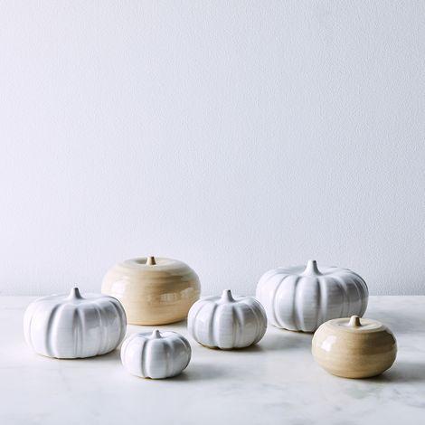 Handmade Ceramic Pumpkins