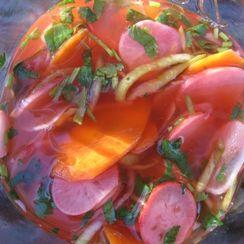 Pickled Spring Vegetables