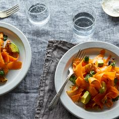 Carrot Salad with Charred Pineapple, Avocado & Cumin-Lime Dressing