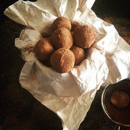 Dark Chocolate Truffles with Orange Liqueur