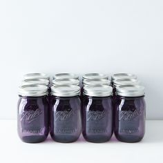 Purple Ball American Heritage Collection Pint Mason Jars (Set of 12)