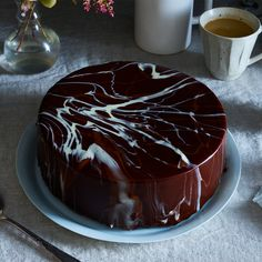 Meet Salvador Dalí–Style Chocolate Glaze (It's Easier Than It Looks)