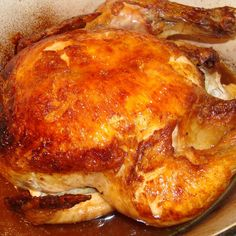 Alice B. Toklas Roast Chicken via Peggy Knickerbocker