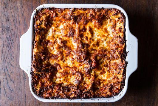 Birthday Lasagna