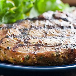 Grilled Porter Pork Chops