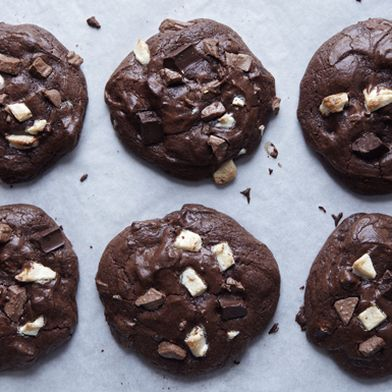 Triple Chocolate Madness Cookies