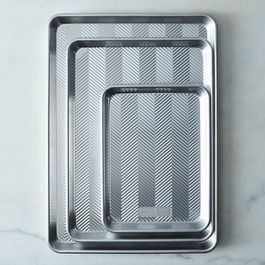 Nordic Ware Prism Aluminum Baking Sheets