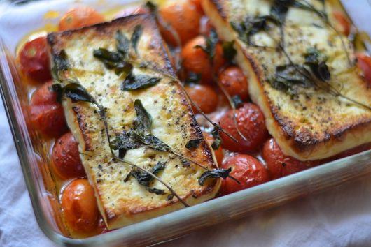 Tomato-Feta Bake