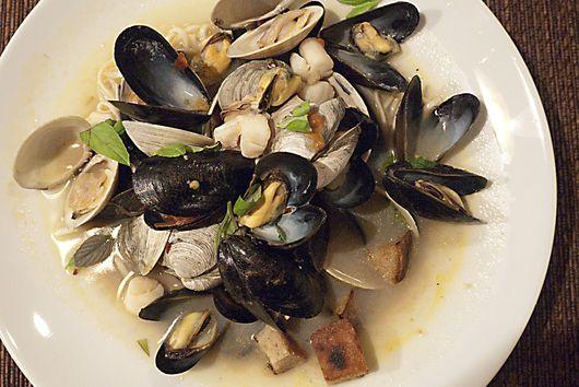 Shellfish Soup (or Brodetto di Crostacei)