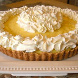 A  Banana Cream Tart That's Gone Bananas