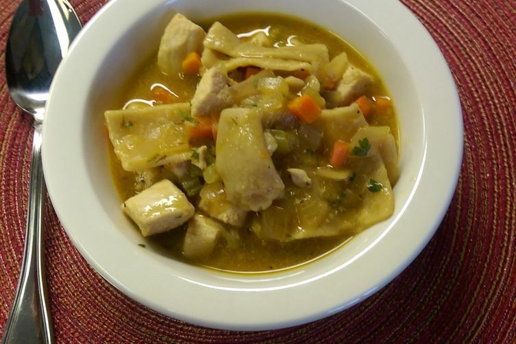 Quick and Healthy Chicken and Dumplings